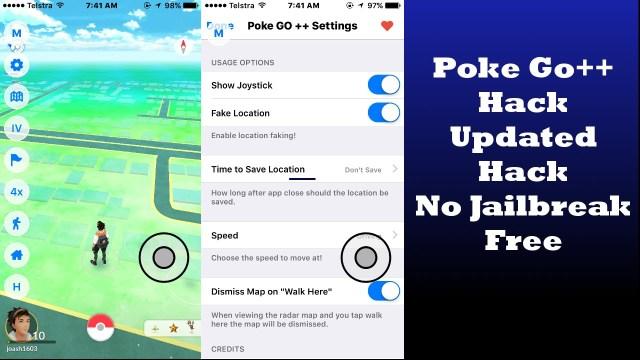 Poke Go++ Pokemon Go hack