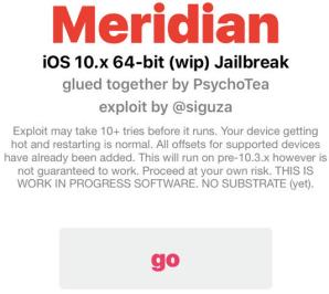 meridian jailbreak