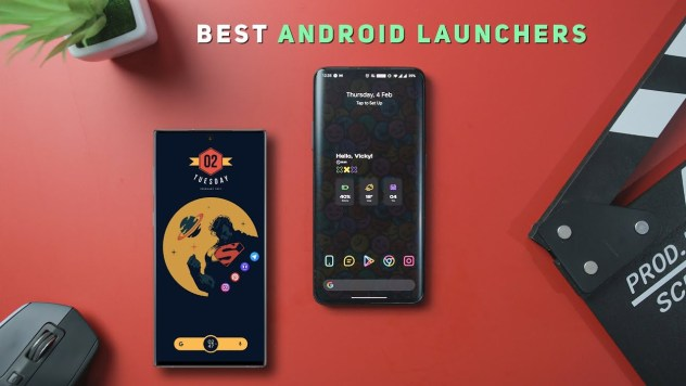 Lightest Android launchers