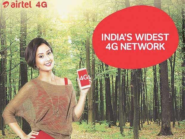 Get 10 GB 4G Internet Data Airtel Users