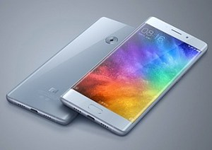 Xiaomi Mi Note 2 Android 7 Nougat OTA update.