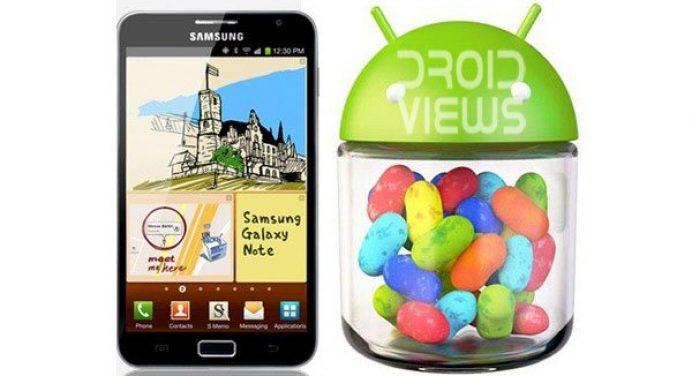 Laden Sie das Jelly Bean ROM auf dem Samsung Galaxy Note GT-N7000 - Jelly Bean ROM auf dem Samsung Galaxy Note GT-N7000 - Droid Views herunter und installieren Sie es
