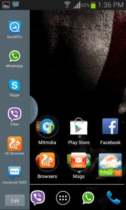 Verschönern Sie Ihr Samsung Galaxy S2 - Screenshot von Multi Window und Ripple Lockscreen - Droid Views