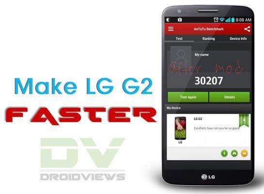 Behebung des LG G2 Lag-Problems
