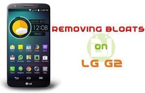 Entfernen Sie die LG G2 Bloatware