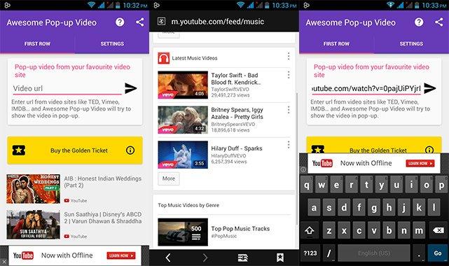 Pop-Up-YouTube-Video --- Screenshot --- 2