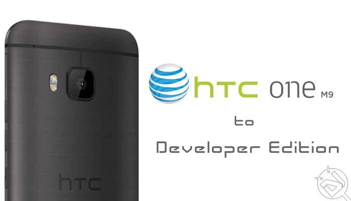 Konvertieren Sie das AT & T HTC One M9