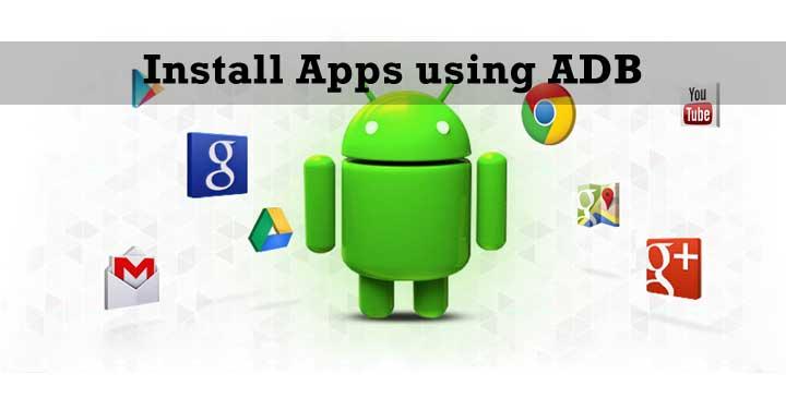 Installieren Sie Apps mit ADB auf Ihrem Smartphone.