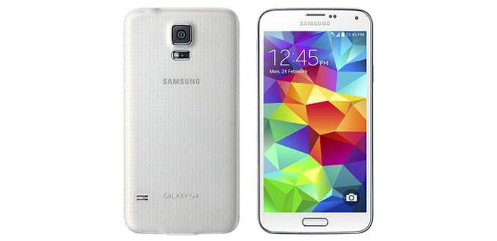 Marshmallow auf dem Galaxy S5