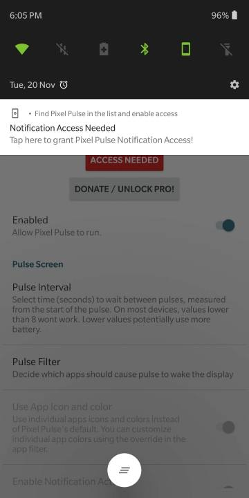 Pixel-Pulse-Grant-Notification-access