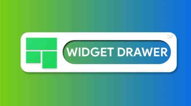 Widget Drawer