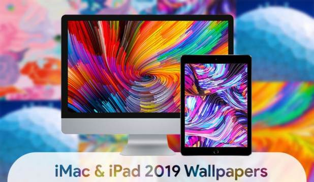 iPad 2019 stock wallpapers