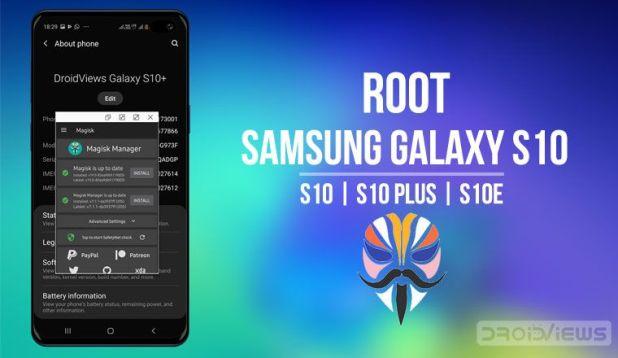 root samsung galaxy s10 magisk