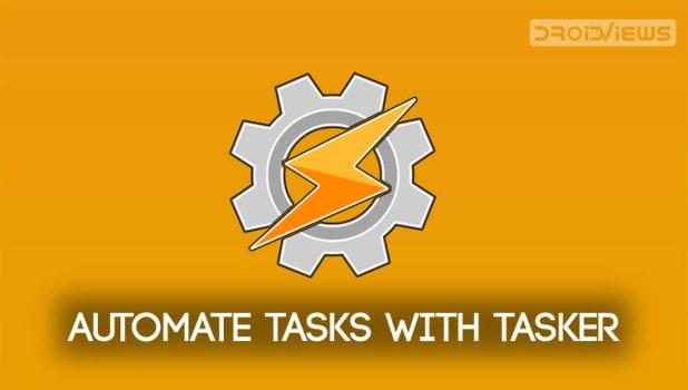 automate android tasks tasker