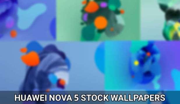 huawei nova 5 wallpapers cover