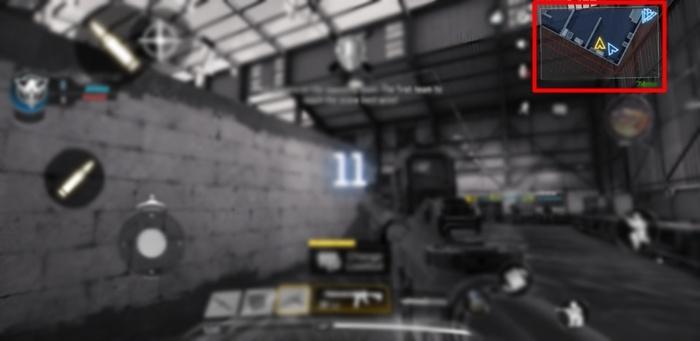 Call of Duty MiniMap-Standort