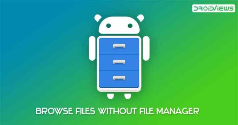 Dateien auf Android durchsuchen