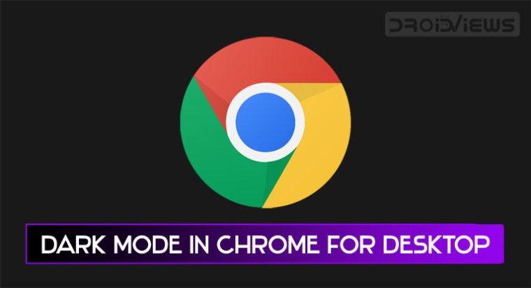 Chrome Desktop Dark-Modus