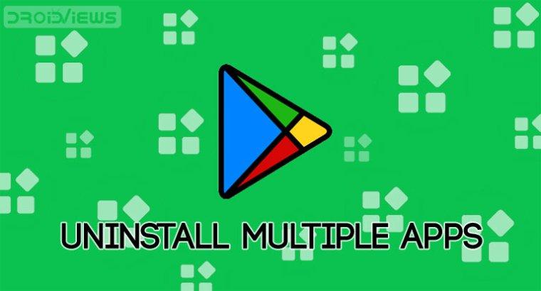 Google Play Apps deinstallieren