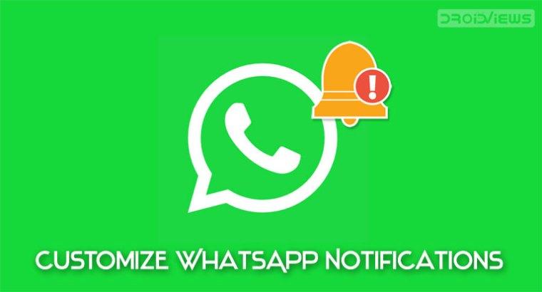 Passen Sie WhatsApp-Benachrichtigungen an