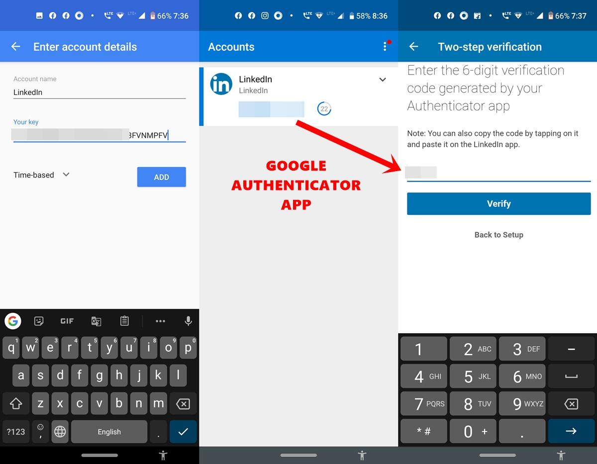 Google Auth App