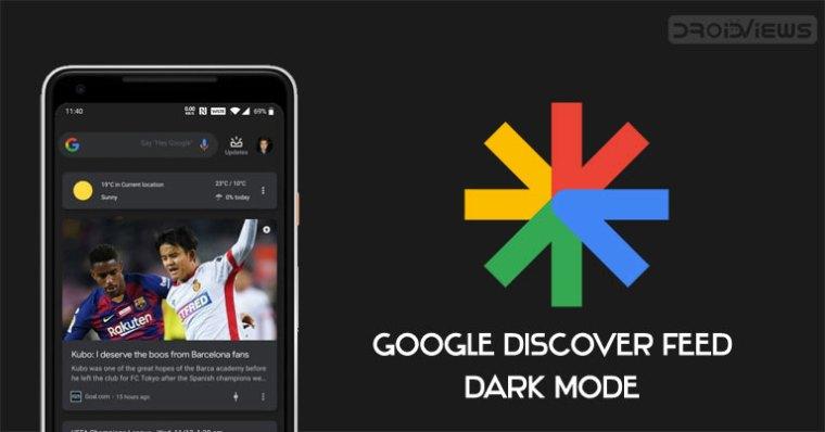 Google Discovery Dark-Modus