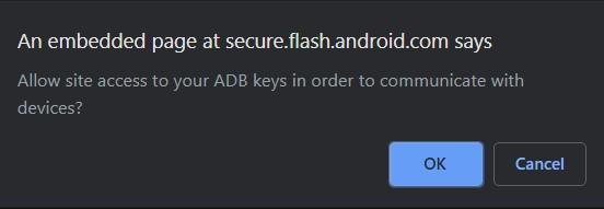 Flash-Tool AdB-Tasten
