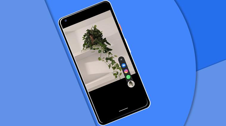 Teilen Sie Fotos direkt von der Kamera auf Ihrem Google Pixel