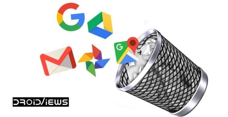 So löschen Sie Ihr Google-Konto automatisch