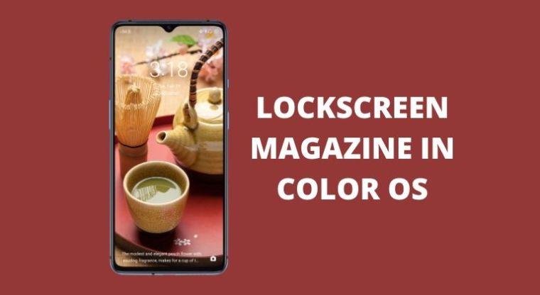 Lockscreen-Magazin in Farbe OS-Cover