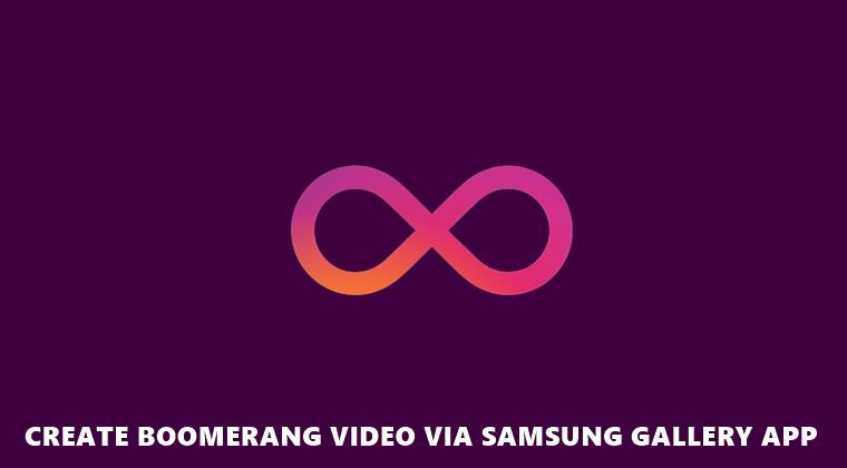 Bumerang Samsung Galerie