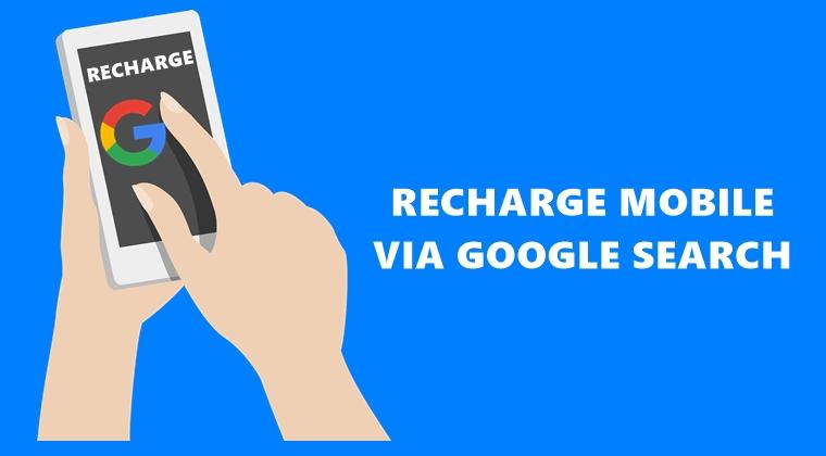 Google Search aufladen