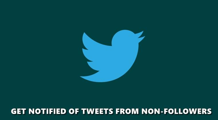 Nicht-Follower-Tweets