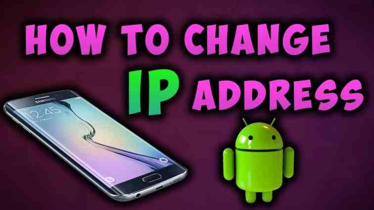 Wie ändere ich die IP-Adresse unseres Android-Geräts?