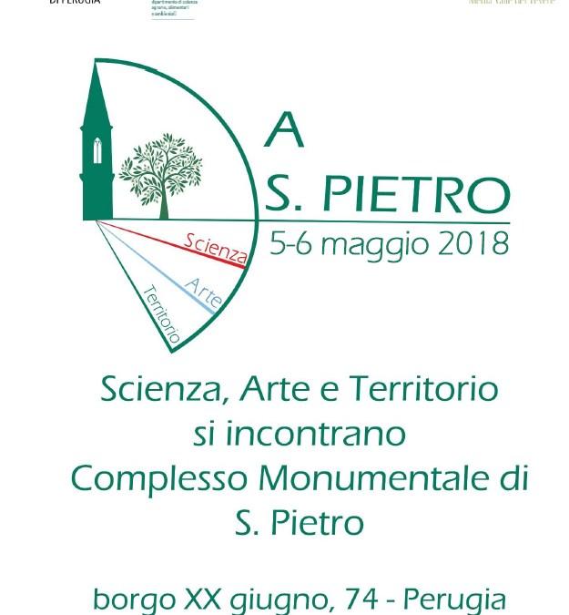 A San Pietro… Scienza, Arte e Territorio si incontrano 2018 // Droinwork