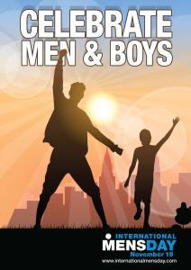 Celebrate Men and Boys - International Mens Day - 19 November