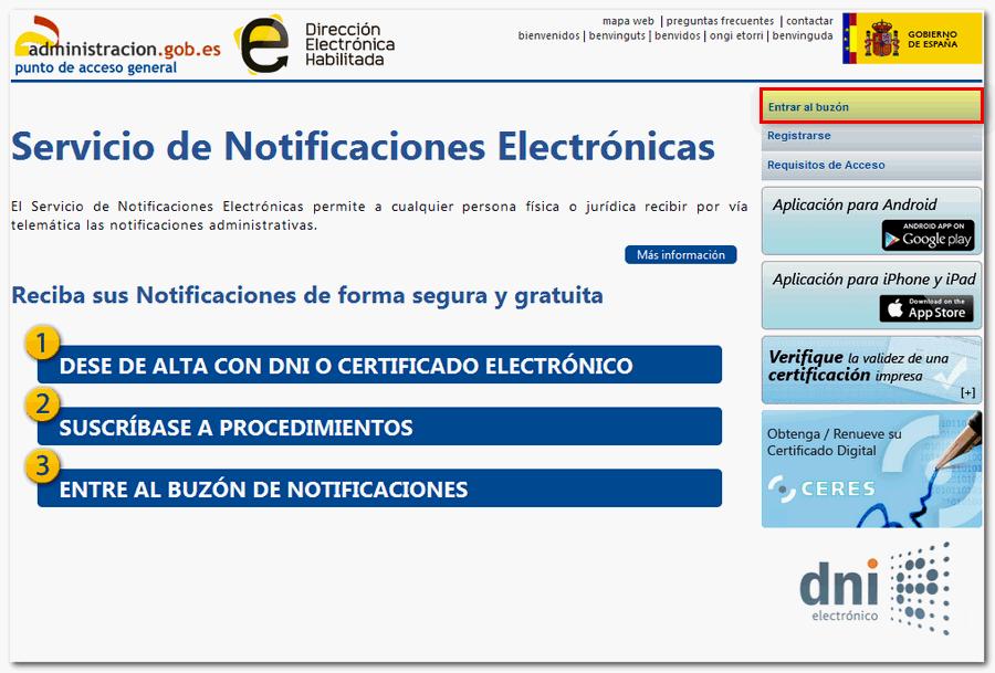 CUIADO CON LAS NOTIFICACIONES ELECTRÓNICAS