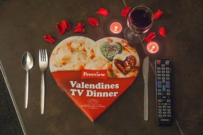 Fail Valentines TV Dinner