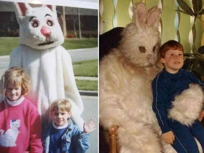 20 Creepy Vintage Easter Bunny Pics Guaranteed To Make You Say WTF -06
