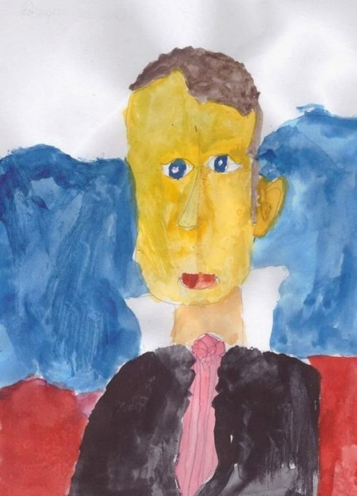 27 Funny Drawings of Putin By Russian Kids Will Make You LOL -14
