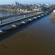 Visite virtuelle de la Loire en crue par drone