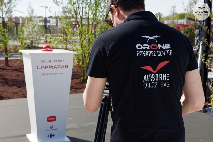 Inauguration suivi de chantier drone