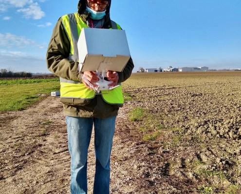formation pilote de drone à Orléans : vol hors vue