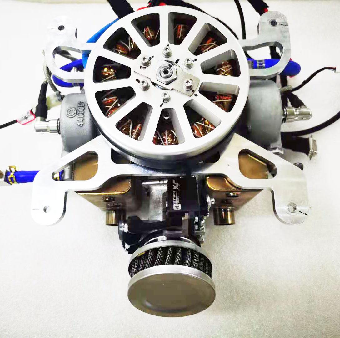 EFI hybrid drone generator