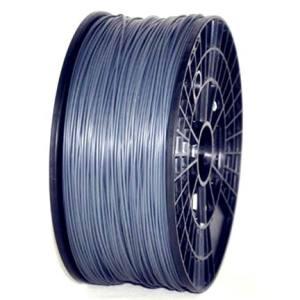 ABS 1.75mm 1KG 3D printer consumables silver HIGH QUALITY GARANTITA SU MAKERBOT, MULTIMAKER, ULTIMAKER, REPRAP, PRUSA