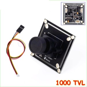 1000 TVL FPV HD COMS Camera 2.8mm Obiettivo Grandangolare per Multicopters NTSC PAL VZLR6898