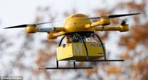 civilian drones, UAV