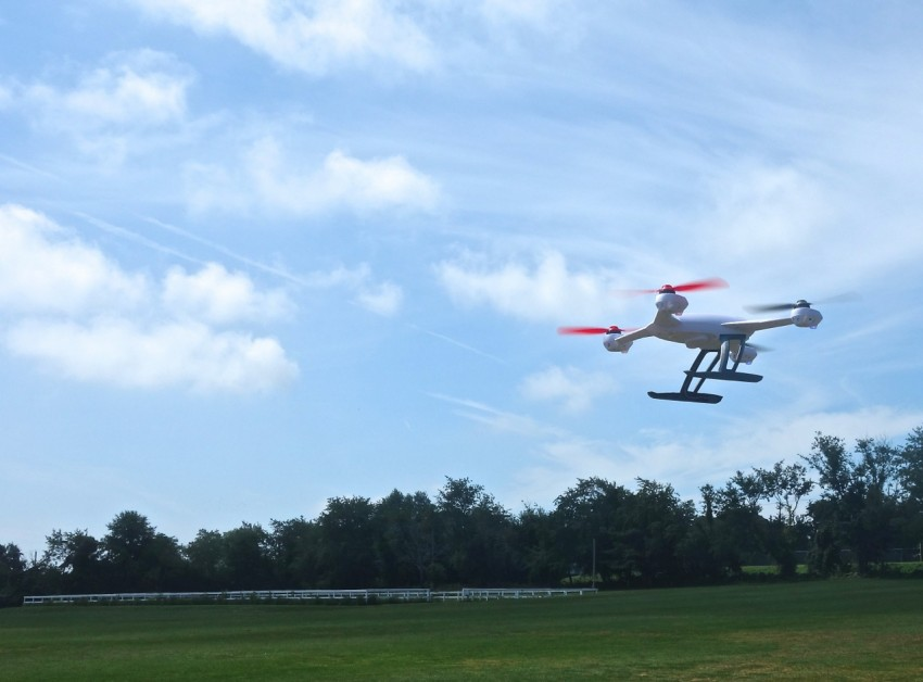 The Blade 350QX  in the Air