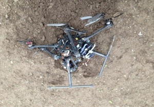 $2000 Quadcopter in pieces!