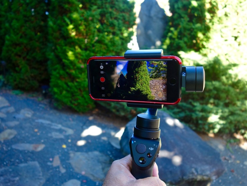 DJI Osmo Mobile in Action